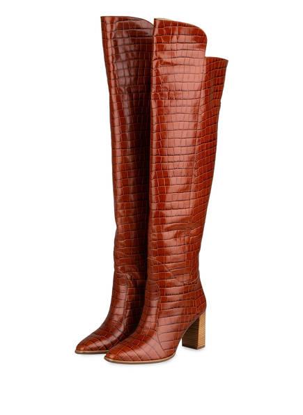 Högl Overknee-Stiefel, Farbe: BRAUN (Bild 1)