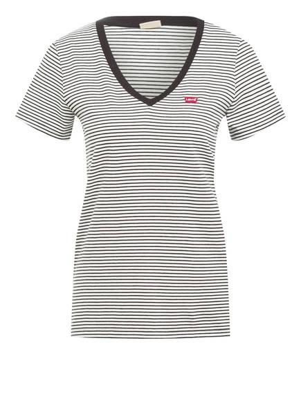 Levi's® T-Shirt , Farbe: WEISS/ SCHWARZ GESTREIFT (Bild 1)