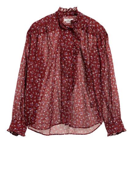 ISABEL MARANT ÉTOILE Bluse PAMIAS , Farbe: DUNKELROT (Bild 1)