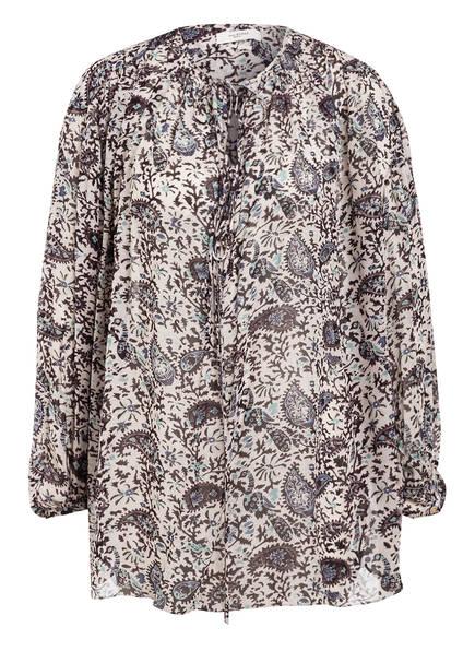 ISABEL MARANT ÉTOILE Blusenshirt LILIANA , Farbe: SCHWARZ/ CREME (Bild 1)