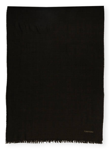 TOM FORD Schal, Farbe: DUNKELBLAU/ DUNKELGRÜN (Bild 1)