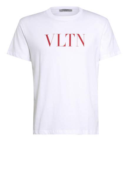 VALENTINO T-Shirt VLTN, Farbe: WEISS (Bild 1)