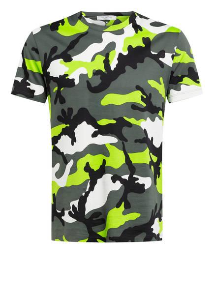 VALENTINO T-Shirt, Farbe: OLIVE/ NEONGRÜN/ WEISS (Bild 1)