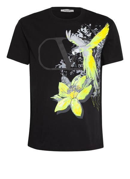 VALENTINO T-Shirt MURAL JUNGLE , Farbe: SCHWARZ (Bild 1)
