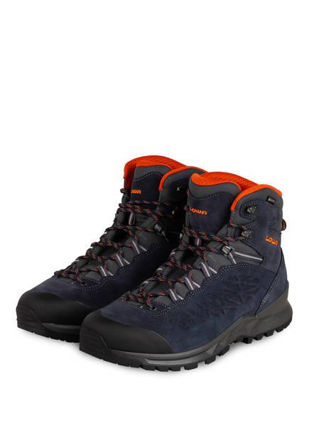 LOWA Outdoor-Schuhe EXPLORER GTX MID, Farbe: NAVY/ ORANGE (Bild 1)