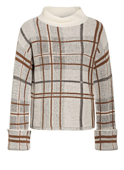 RIANI Pullover, Farbe: CREME/ BRAUN/ HELLGRAU (Bild 1)