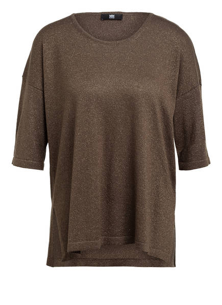 RIANI Strickshirt mit 3/4-Arm und Glitzergarn , Farbe: OLIV (Bild 1)