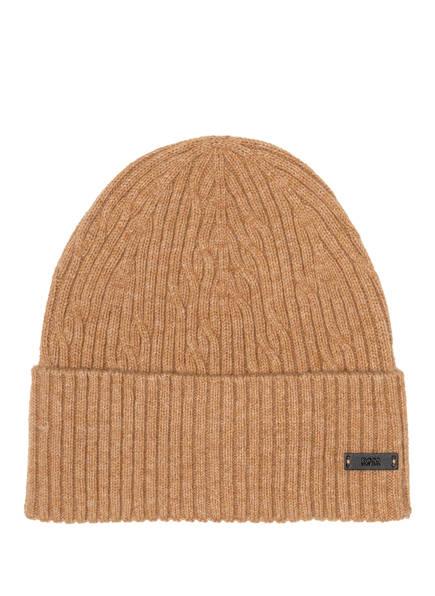 BOSS Mütze MERCURINO, Farbe: BEIGE MELIERT (Bild 1)