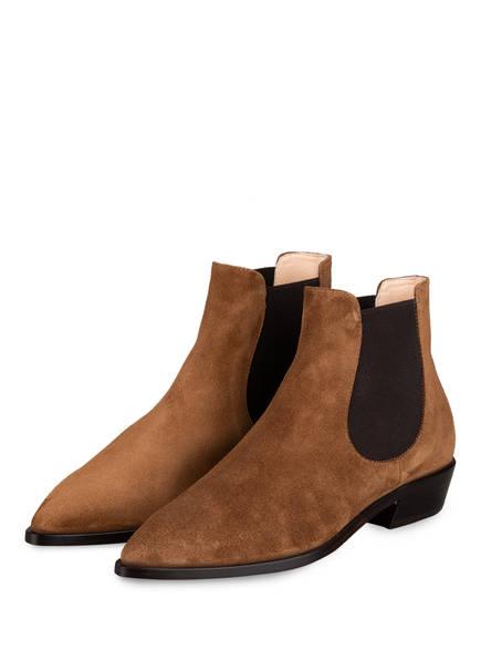 AGL ATTILIO GIUSTI LEOMBRUNI Chelsea-Boots , Farbe: COGNAC (Bild 1)