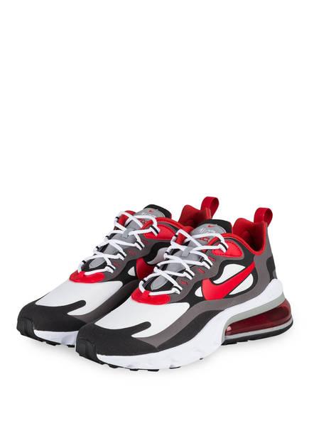 Nike Sneaker AIR MAX 270 REACT, Farbe: SCHWARZ/ ROT/ WEISS (Bild 1)