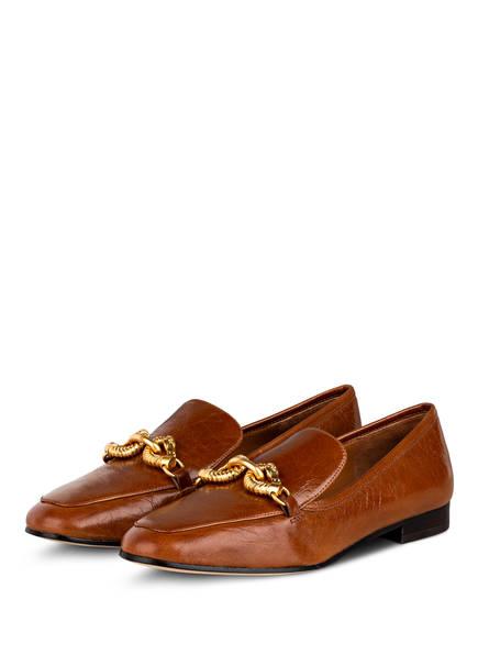 TORY BURCH Loafer JESSA, Farbe: CAMEL (Bild 1)