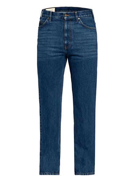 GUCCI Jeans Regular Fit mit Galonstreifen , Farbe: 447 BLUE/ MIX (Bild 1)
