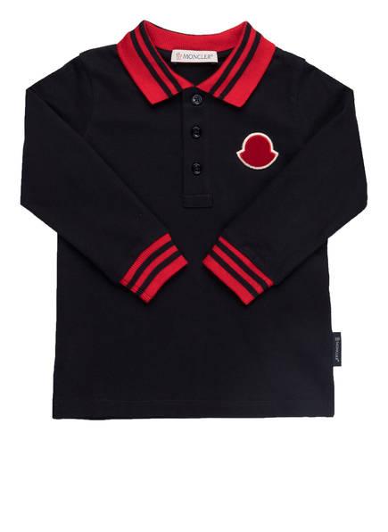 MONCLER enfant Piqué-Poloshirt , Farbe: DUNKELBLAU/ DUNKELROT (Bild 1)