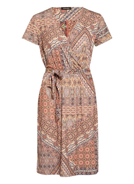MORE & MORE Kleid, Farbe: BRAUN/ GELB/ ROT (Bild 1)
