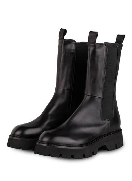 Fru.it Plateau-Boots, Farbe: SCHWARZ (Bild 1)