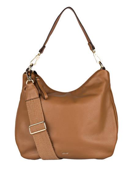 abro Hobo-Bag ERNA SMALL, Farbe: COGNAC (Bild 1)