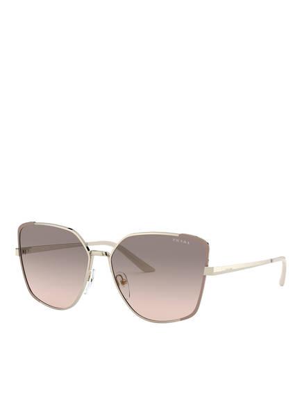 PRADA Sonnenbrille PR 60XS, Farbe: 07B4K0 - GOLD/ TAUPE/ TAUPE VERLAUF (Bild 1)