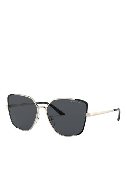 PRADA Sonnenbrille PR 60XS, Farbe: QE35Z1 - GOLD/ SCHWARZ (Bild 1)