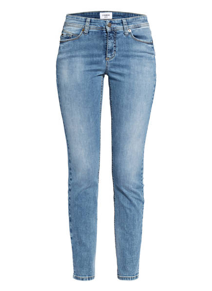 CAMBIO Skinny Jeans PARLA mit Swarovski Kristallen, Farbe: 5190 authentic lifely blue (Bild 1)