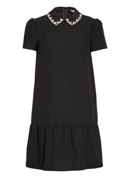 RED VALENTINO Kleid mit Schmucksteinbesatz, Farbe: SCHWARZ (Bild 1)