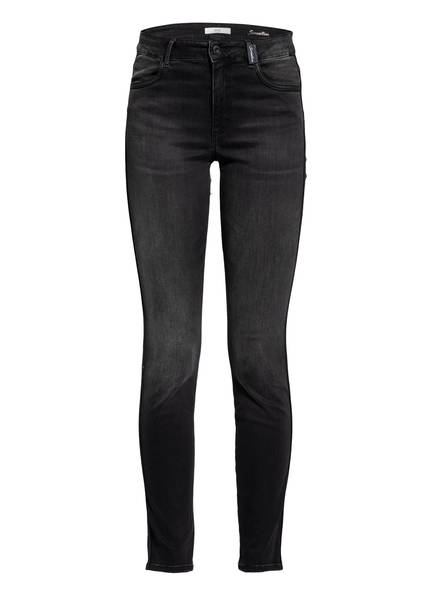 BRAX Skinny Jeans SHAKIRA mit Galonstreifen , Farbe: 03 USED BLACK BLACK (Bild 1)