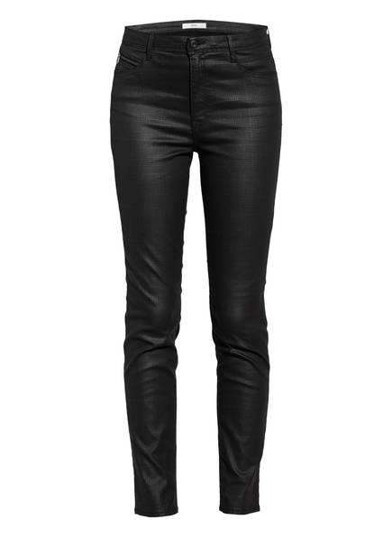 BRAX Skinny Jeans mit Beschichtung, Farbe: SCHWARZ (Bild 1)