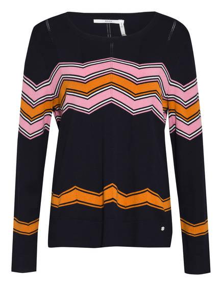 BRAX Pullover LIZ, Farbe: DUNKELBLAU// ROSA/ ORANGE (Bild 1)
