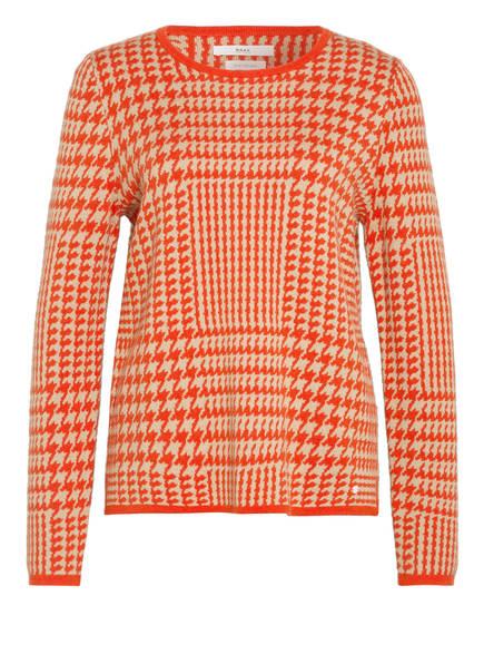BRAX Pullover LIZ , Farbe: ORANGE/ BEIGE (Bild 1)