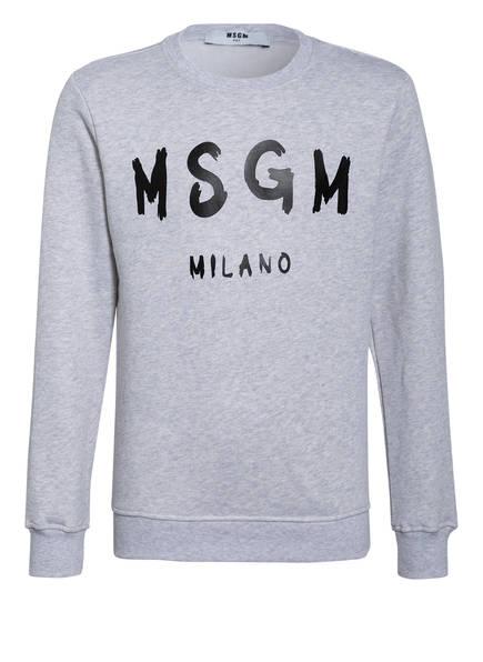 MSGM KIDS Sweatshirt, Farbe: HELLGRAU MELIERT (Bild 1)