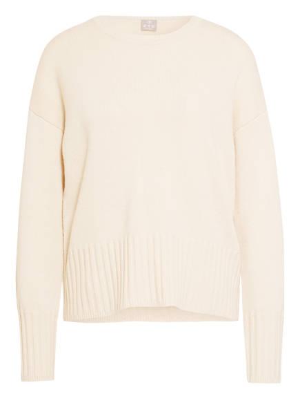 FTC CASHMERE Cashmere-Pullover, Farbe: CREME (Bild 1)