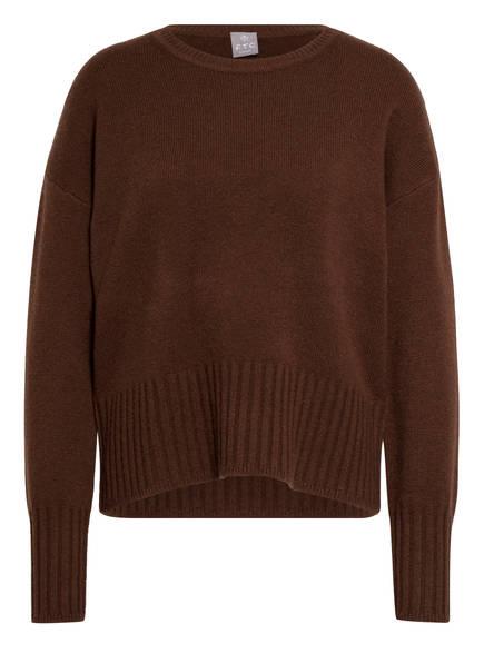 FTC CASHMERE Cashmere-Pullover, Farbe: BRAUN (Bild 1)