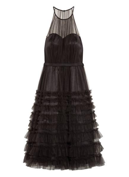 VM VERA MONT Cocktailkleid mit Rüschenbesatz, Farbe: SCHWARZ (Bild 1)