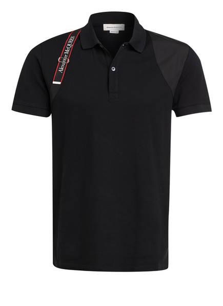 Alexander McQUEEN Piqué-Poloshirt Slim Fit, Farbe: 1000 BLACK (Bild 1)