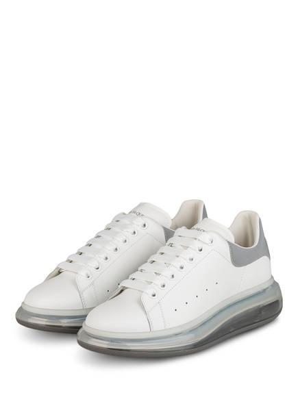 ALEXANDER McQUEEN Sneaker, Farbe: WEISS/ SILBER (Bild 1)