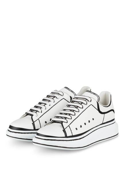 ALEXANDER McQUEEN Sneaker, Farbe: WEISS/ SCHWARZ (Bild 1)