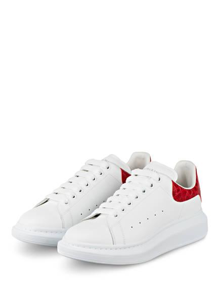 Alexander McQUEEN Sneaker , Farbe: WEISS/ ROT (Bild 1)