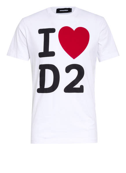 DSQUARED2 T-Shirt ICON, Farbe: WEISS (Bild 1)