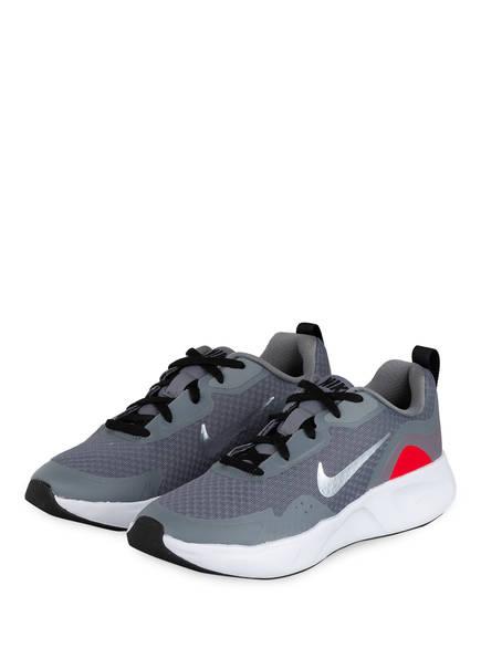 Nike Sneaker WEAR ALL DAY, Farbe: GRAU/ SCHWARZ/ ROT (Bild 1)