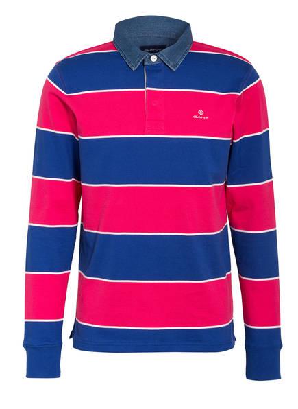 GANT Jersey-Poloshirt Regular Fit , Farbe: BLAU/ PINK (Bild 1)