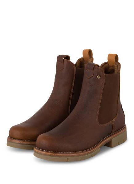 PANAMA JACK Chelsea-Boots FILIPA IGLOO NATURE B2, Farbe: DUNKELBRAUN (Bild 1)