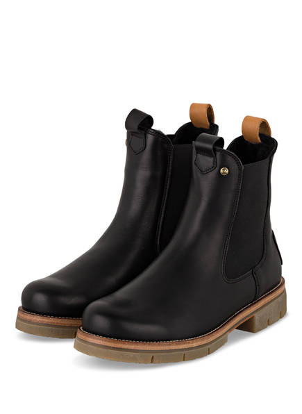 PANAMA JACK Chelsea-Boots FILIPA IGLOO NATURE, Farbe: SCHWARZ (Bild 1)