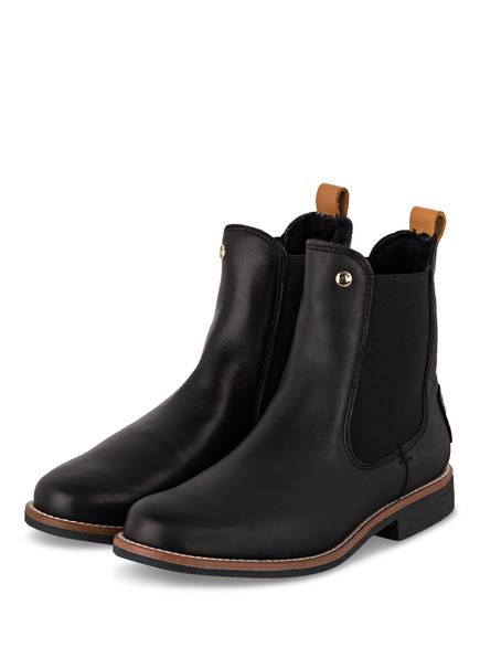 PANAMA JACK Chelsea-Boots GILLIAN IGLOO TRAVEL, Farbe: SCHWARZ/ DUNKELBRAUN (Bild 1)
