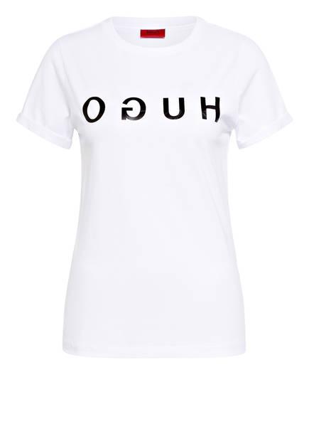 HUGO T-Shirt THE HUGO TEE, Farbe: WEISS (Bild 1)