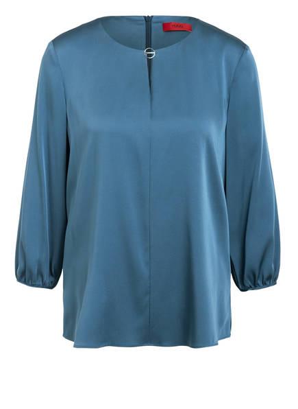 HUGO Blusenshirt CAELA aus Seide , Farbe: BLAUGRAU (Bild 1)