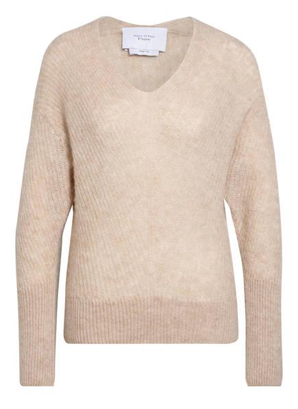 Marc O'Polo Pure Pullover mit Alpaka, Farbe: HELLBEIGE (Bild 1)