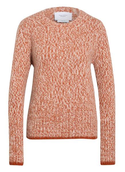 Marc O'Polo Pure Pullover, Farbe: BRAUN/ WEISS MELIERT (Bild 1)