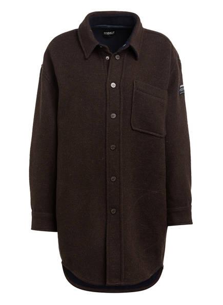 ECOALF Oversized-Overshirt MONT BLANC, Farbe: BRAUN (Bild 1)