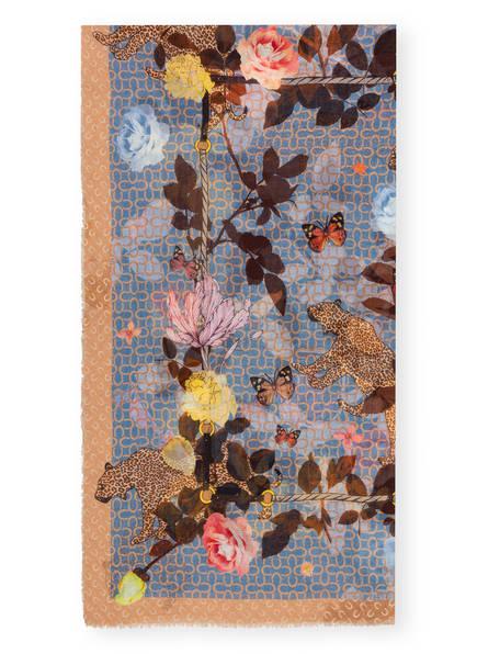 CODELLO Tuch , Farbe: BRAUN/ BEIGE/ HELLBLAU (Bild 1)