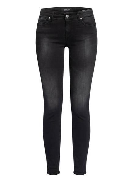 REPLAY Skinny Jeans NEW LUZ, Farbe: 097 DARK GREY (Bild 1)