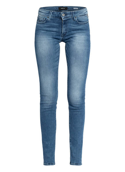 REPLAY Skinny Jeans NEW LUZ, Farbe: 009 MEDIUM BLUE (Bild 1)